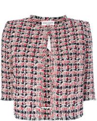 Chaqueta de tweed roja de Sonia Rykiel