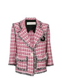 Chaqueta de tweed rosa de Shirtaporter
