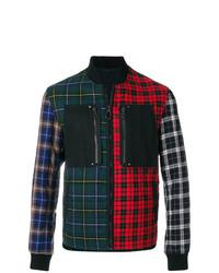 Chaqueta estilo camisa a cuadros en multicolor de Lanvin
