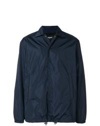 Chaqueta estilo camisa azul marino de DSQUARED2