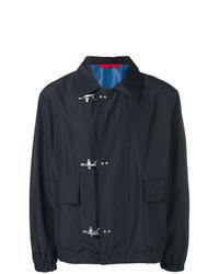 Chaqueta estilo camisa azul marino de Fay