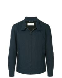 Chaqueta estilo camisa azul marino de Gieves & Hawkes