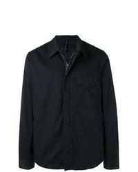 Chaqueta estilo camisa azul marino de Ps By Paul Smith