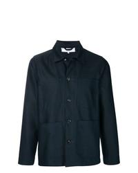 Chaqueta estilo camisa azul marino de Societe Anonyme