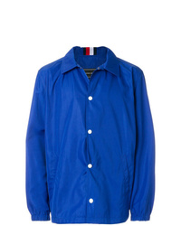 Chaqueta estilo camisa azul de Tommy Hilfiger
