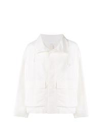 Chaqueta estilo camisa blanca de Jil Sander