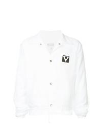 Chaqueta estilo camisa blanca de Maison Margiela