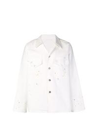 Chaqueta estilo camisa blanca de Our Legacy