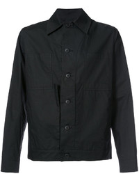 Chaqueta estilo camisa de algodón negra de Craig Green