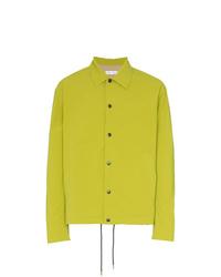 Chaqueta estilo camisa en amarillo verdoso de Cmmn Swdn