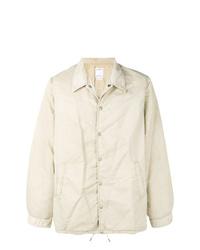 Chaqueta estilo camisa en beige