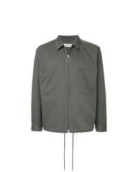 Chaqueta estilo camisa en gris oscuro de Monkey Time