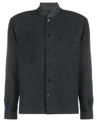 Chaqueta estilo camisa en gris oscuro de YMC