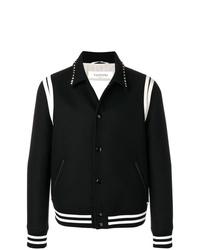 Chaqueta estilo camisa en negro y blanco de Valentino