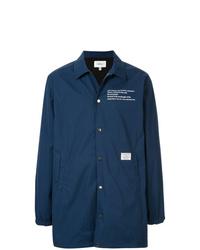 Chaqueta estilo camisa ligera azul marino de Makavelic