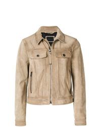 Chaqueta estilo camisa marrón claro de Diesel Black Gold