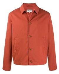 Chaqueta estilo camisa naranja de YMC