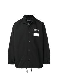 Chaqueta estilo camisa negra de adidas