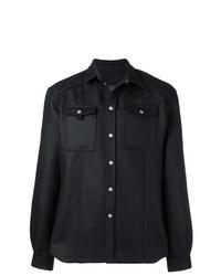 Chaqueta estilo camisa negra de Diesel Black Gold