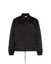 Chaqueta estilo camisa negra de Facetasm