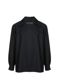 Chaqueta estilo camisa negra de Mackintosh 0003