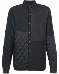 Chaqueta estilo camisa negra de Mostly Heard Rarely Seen