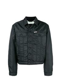 Chaqueta estilo camisa negra de Off-White