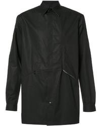 Chaqueta estilo camisa negra de Y-3