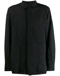 Chaqueta estilo camisa negra de Ziggy Chen