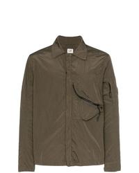 Chaqueta estilo camisa verde oliva de CP Company