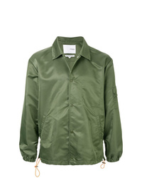 Chaqueta estilo camisa verde oliva de Yoshiokubo