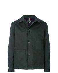 Chaqueta estilo camisa verde oscuro de Ps By Paul Smith