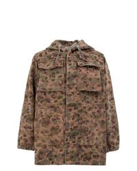 Chaqueta militar de camuflaje marrón de Myar