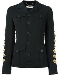 Chaqueta Militar Negra de Givenchy