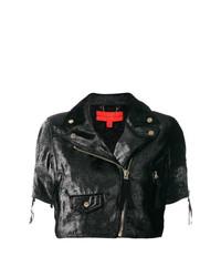 Chaqueta motera negra de Hilfiger Collection
