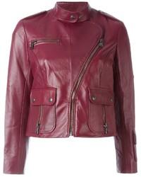 Chaqueta motera roja de Marc Jacobs