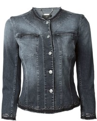 Chaqueta vaquera en gris oscuro de 7 For All Mankind