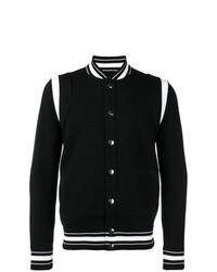 Chaqueta varsity en negro y blanco de Givenchy