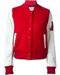 Chaqueta Varsity Roja de American College