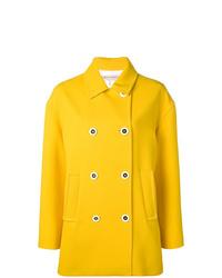 Chaquetón amarillo de Emilio Pucci