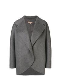 Chaquetón en gris oscuro de Michael Kors Collection