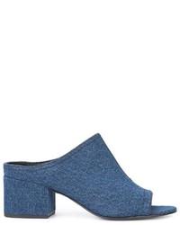 Chinelas azules de 3.1 Phillip Lim