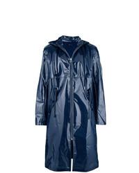 Chubasquero azul marino de Helmut Lang