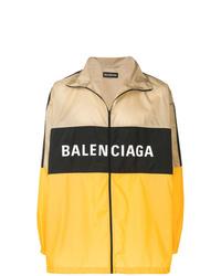 Chubasquero estampado en multicolor de Balenciaga