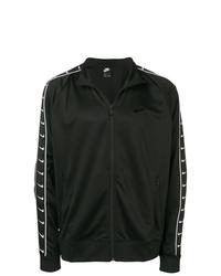 Chubasquero estampado en negro y blanco de Nike