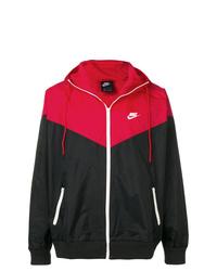 Chubasquero estampado negro de Nike