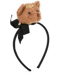 Cinta para la cabeza negra de Dolce & Gabbana