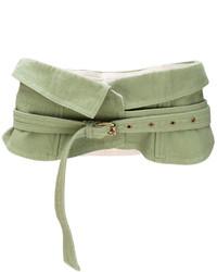 Cinturón Verde Oliva de Isabel Marant