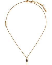 Colgante Dorado de Marc Jacobs