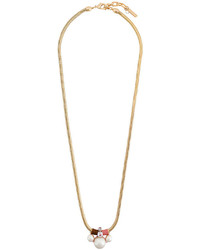 Collar de Perlas Dorado de Rada'